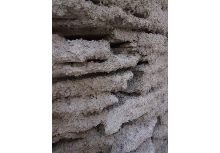 Λεπτομέρεια ασβεστωμένης τοιχοποιίας