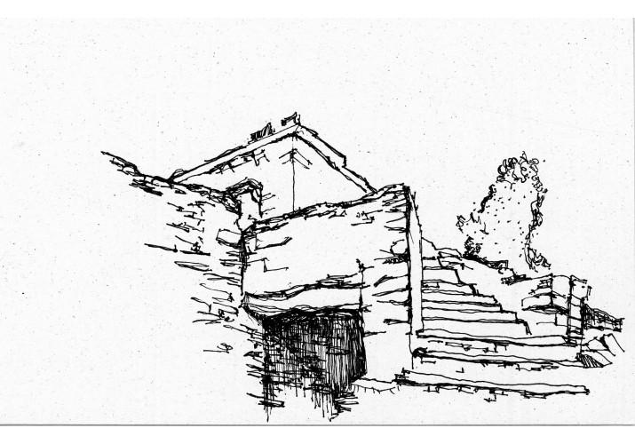 Τμήμα σκάλας εισόδου